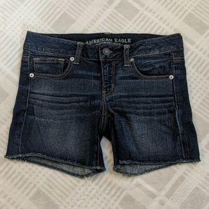 American Eagle Shorts | Jean | Dark Wash | Stretch